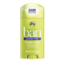 Ban Invisible Solid Antiperspirant Deodorant Powder Fresh 73 Gr