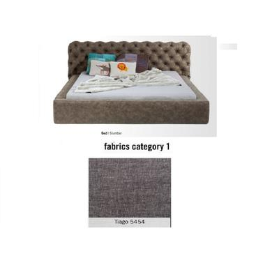 Cama Slumber, tela 1 - Tiago   5454,   (82x228x239cms), 180x200cm (no incluye colchón)