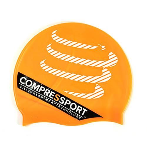 Swimming Cap Orange - Compressport