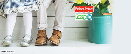 FISHER PRICE BEEP IN ZAPATOS INFANTILES TODO A 39.990