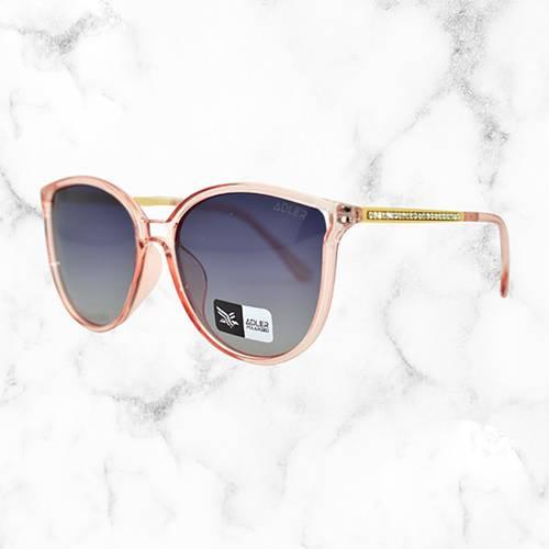 Gafas de sol polarizada con filtro UV 400 Negro - Dorado Rosado
