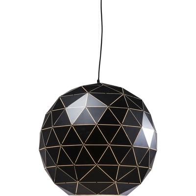 Lámpara Triangle negro Ø60cm