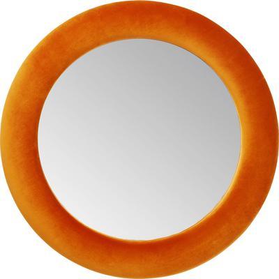 Espejo Velvet naranja Ø92cm