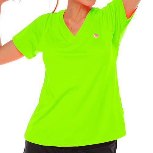 Camiseta M/C Verde Neon