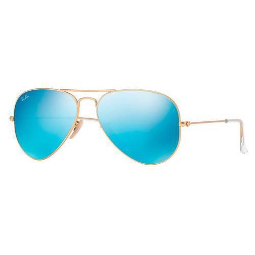 Gafas de Sol 17-58 Dorado/Verde Espejo