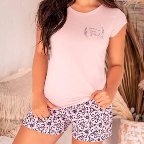 Pijama Rosa - 11383