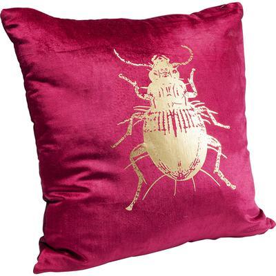 Cojín Bug púrpura 45x45cm