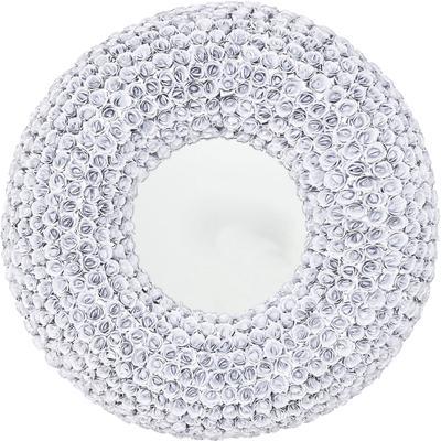 Espejo Rose blanco Ø100cm