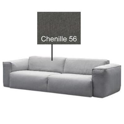 Sofa Hudson, 3-Seater, TELA: Chenille 56 (Grey)