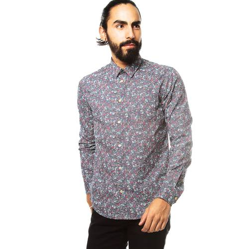 Camisa Color Siete para Hombre  - Violeta