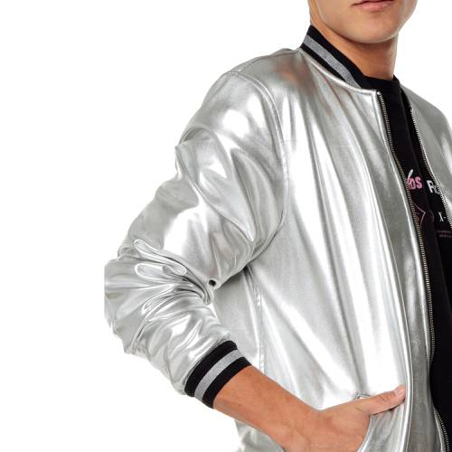 Chaqueta Silver Rosé Pistol Unisex - Plateado