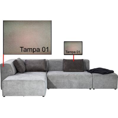 SOFÁ INFINITY SOFA: TAMPA 01, PILLOWS: TAMPA 01 MEDIDAS 300 X 68 X 180