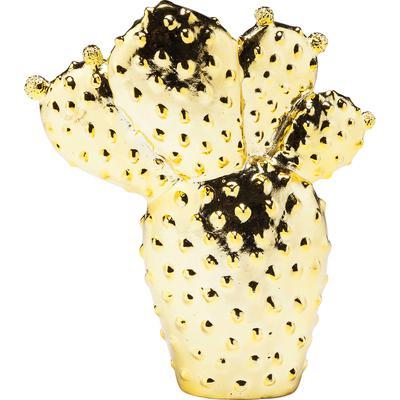 Alcancía Kaktus Desert oro 22cm