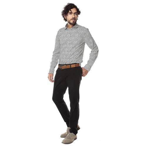 Pantalon Chelsea Color Siete Para Hombre - Negro