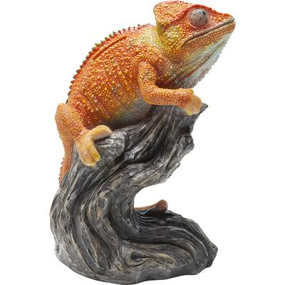 Alcancía Chameleon naranja