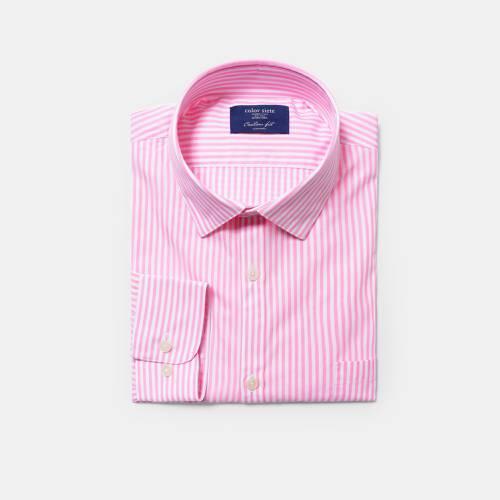 Camisa Color Siete para Hombre 5007-14 - Rosado