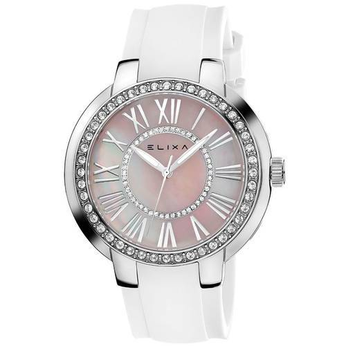 Reloj Beauty Blanco /Plateado 4-L361  - ELIXA
