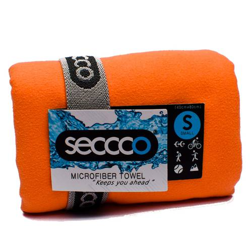Toalla de Microfibra Naranja S