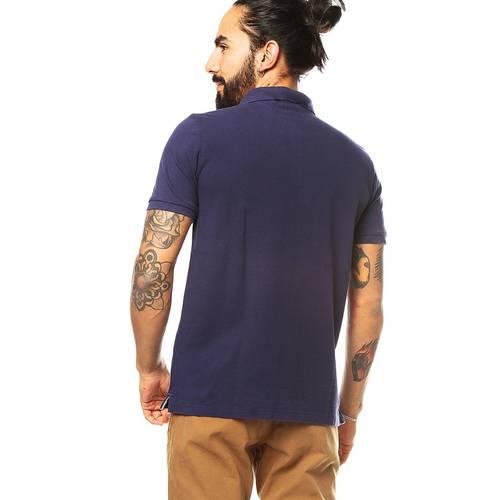 Camiseta Tipo Polo Jack Supplies para Hombre - Azul