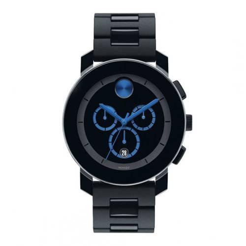Reloj análogo negro-negro 0101