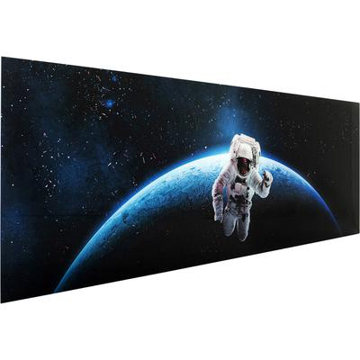 Cuadro cristal Man In Space 80x240cm