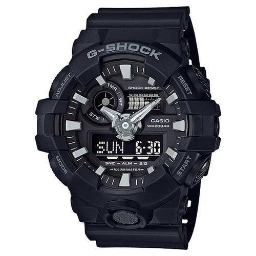 Reloj g-shock anadigi negro-negro 0-1B