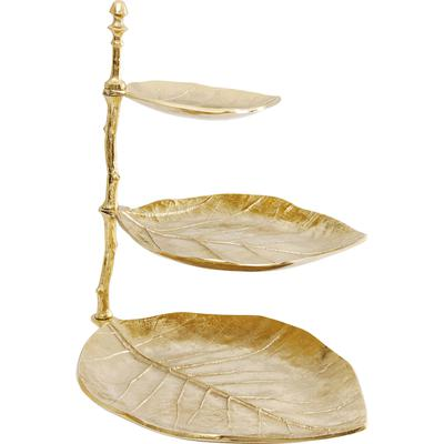 Escalera decorativa Leaf oro