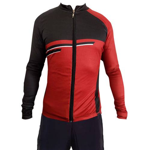 Camiseta Ciclismo Vinotinto