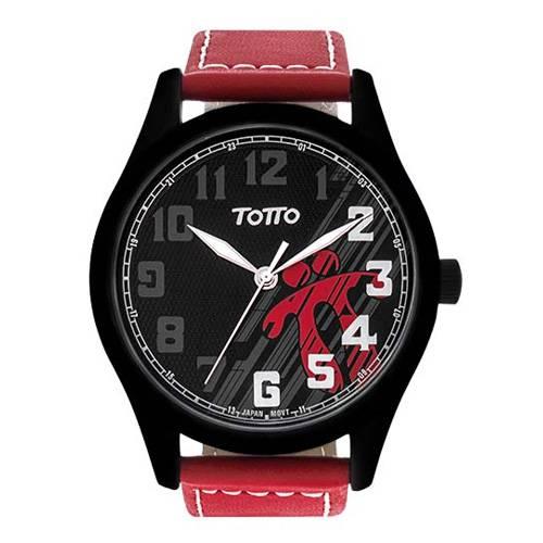 Reloj análogo negro-rojo 09-4