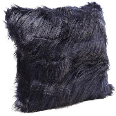 Cojín Ontario Fur azul oscuro 45x45cm
