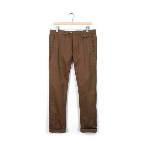 Pantalon Essex Color Siete para Hombre - Cafe