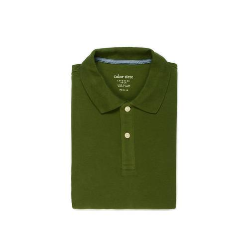 Polo Color Siete para Hombre  - Verde