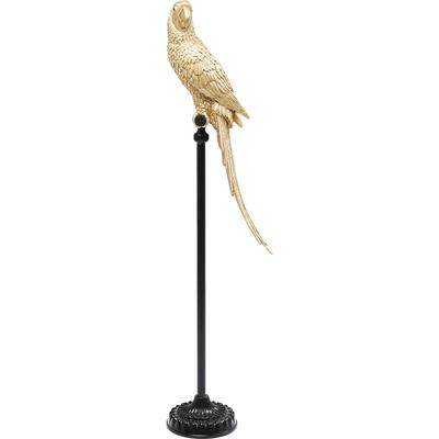 Figura decorativa Parrot oro