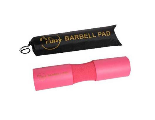 Barbell pad rosa FIT & FURY