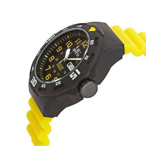 Reloj quartz negro-amarillo 5328
