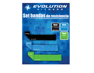 SET DE BANDAS DE ESTIRAMIENTO EVOLUTION