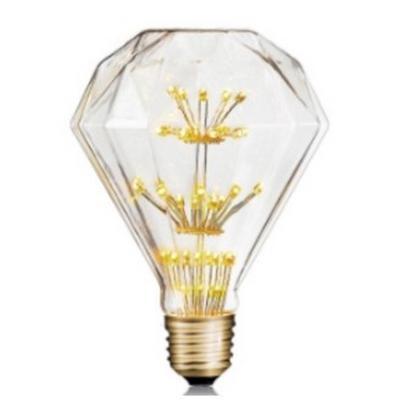 Bombilla LED Fuegos artificiales Forma D95 - Rosca E27 - Luz Cálida - Dimerizable