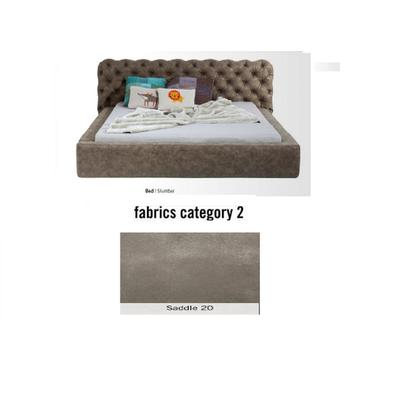 Cama Slumber,  tela 2 - Saddle 20,   (87x208x239cms), 160x200cm (no incluye colchón)