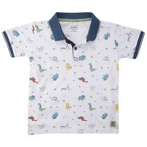 Camiseta Polo Little Boy Mountain
