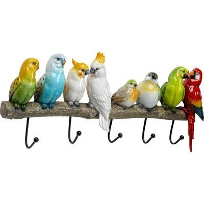 Perchero pared Exotic Birds