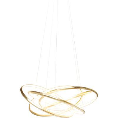 Lámpara Saturn LED oro grande