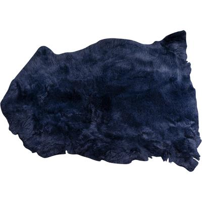 Piel cordero Heidi azul 85x60cm