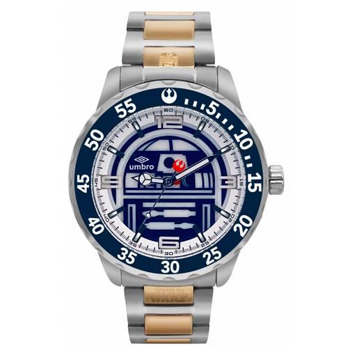 Reloj Análogo Plateado-Dorado Umb-Sw03-5