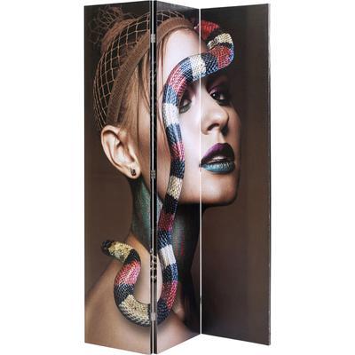 Biombo Royal Headdress vs Snake Girl 120x180cm