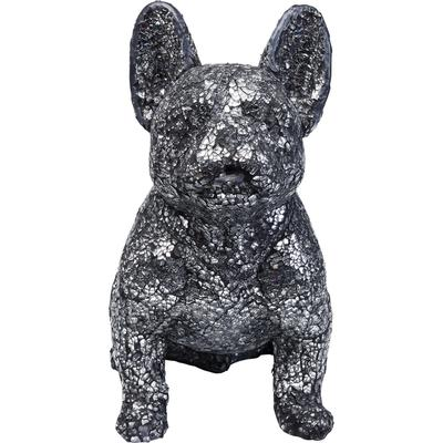 Objeto decorativo Crystal Sitting Dog peq.