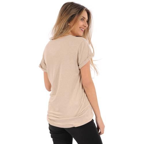 Camiseta Hailey Rosé Pistol para Mujer - Beige
