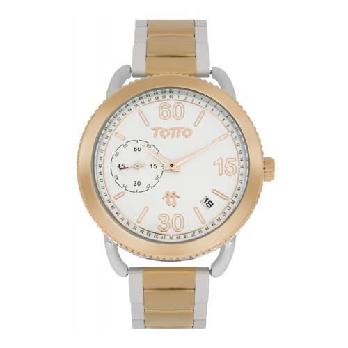 Reloj análogo blanco-multicolor 22-2