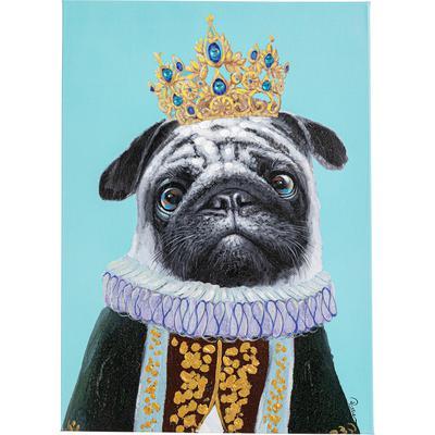 Cuadro Dog Big King 70x50