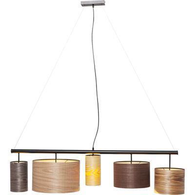 Lámpara Parecchi Wood Colore 140cm