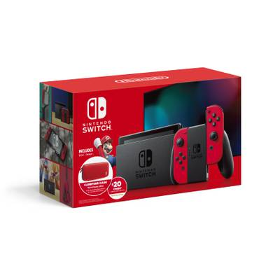 Nintendo Switch Edicion Especial Mario Red Joy-Con